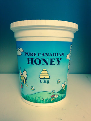 Pure Natural Raw Honey 1 KG