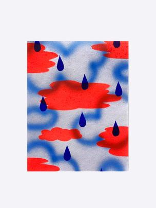Series II – 1, 2020, acrylic on watercolour paper, 19 x 13.5cm