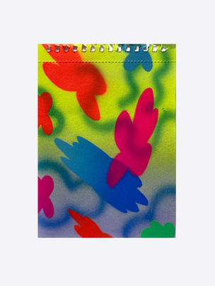 Series II – 2, 2020, acrylic on watercolour paper, 19 x 13.5cm