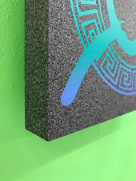 Acceleration, 2019, Acrylic on wood, 30 x 30cm