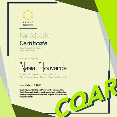 Nasia Houvarda-CQAR-ParticipationCertifi