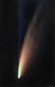 Comet C/2020 F3 NEOWISE Puts on a Spectacular Show