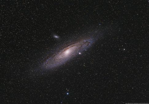 Andromeda Galaxy M31 from 7/12/2015
