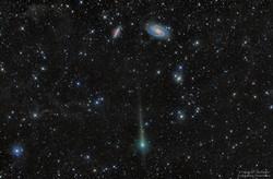 Comet C/2017 T2 PanSTARRS Passes by Gala