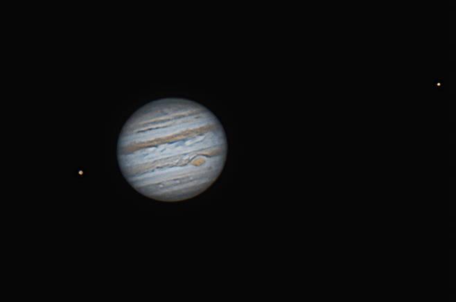 Jupiter Ganymede Io 2/12/2015 23:27PST