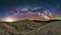 Milky Way Arch over Kelso Dunes