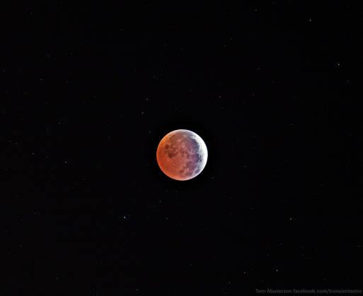 Lunar Eclipse 4/4/2015 at 5:00 PDT