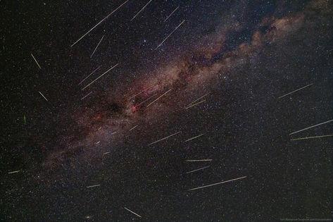Perseid Meteor Shower 8/11-12/2016