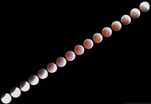 Lunar Eclipse 4/4/2015 from 3:30-6:00 PDT