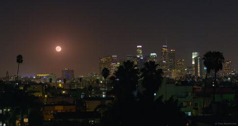 Harvest Moon Over DTLA