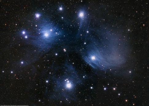The Pleiades, One Year Ago