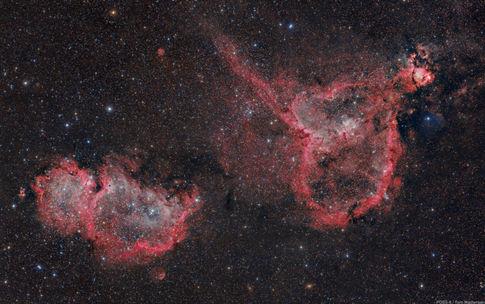 Heart and Soul Nebulae POSS-II Combo
