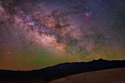 Sagittarius Rises over the Mojave National Preserve