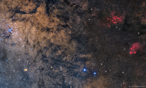 From the Cat's Paw Nebula to the Ptolemy Star Cluster