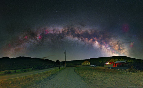 Milky Way over Grand Mesa Observatory