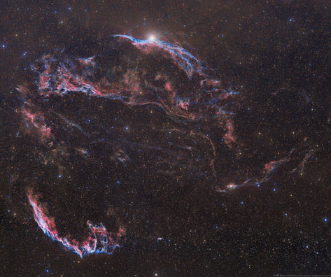 Veil Nebula, POSS-II Combo