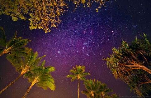 Night Sky in Kauai, HI