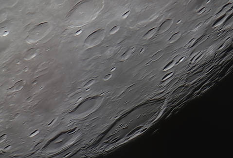 Moon Craters: Gauss, Hahn, and Berosus 12/7/2014