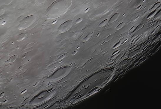 Moon Craters: Gauss, Hahn, and Berosus 12/7/2014