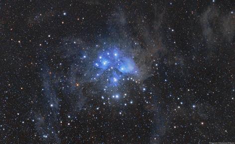 Pleiades, Messier 45 (Collaboration)
