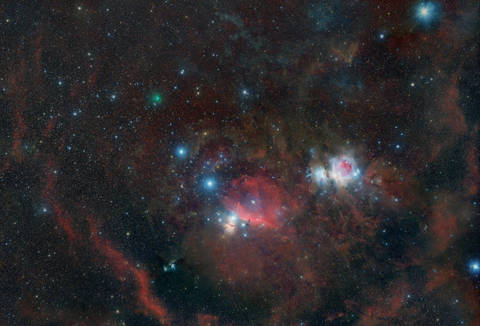 The Green Fourth 'Star' of Orion's Belt