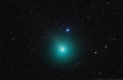 Comet 46P/Wirtanen (Comet and Star Stack)