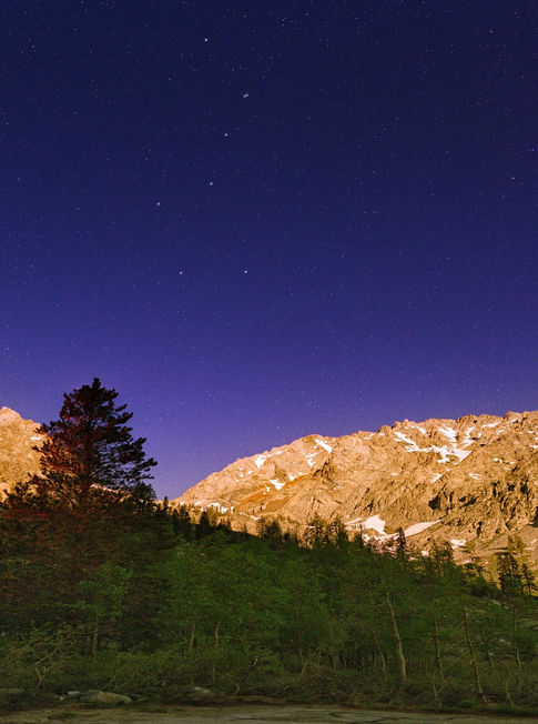Big Dipper over Onion Valley Campground