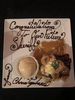 Dessert at Christopher's