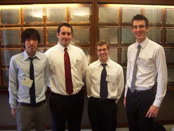SSP's 2012 U of I Engineering Team