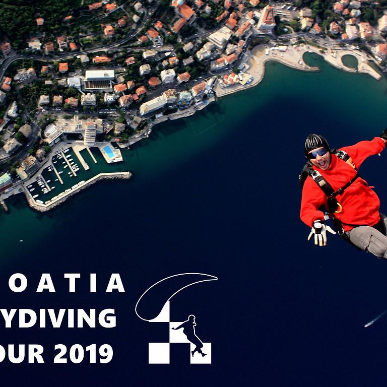 Parachute Tour of Croatia & Skydive Photo Contest
