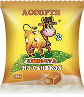 Конфета Cream fudge на сливках АССОРТИ 1