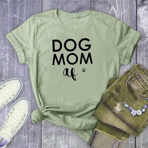 DOG MOM Summer Fashion Shirt