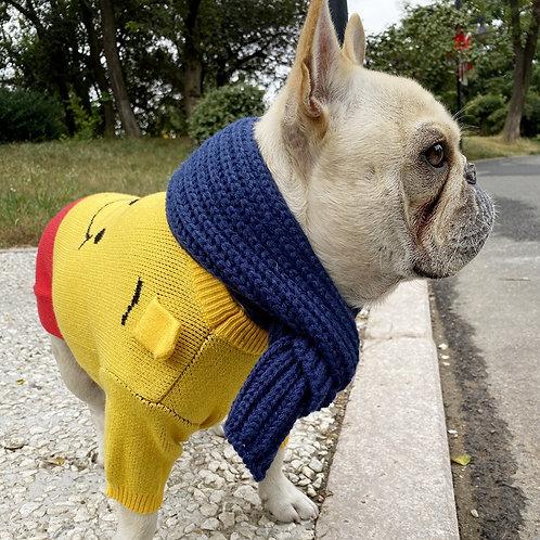 Winter Fashion Knitted Warm Dog Scarf