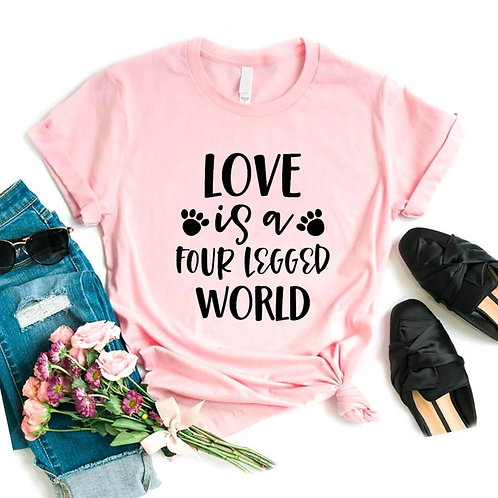 Paw Lover T Shirt Dog and Cat