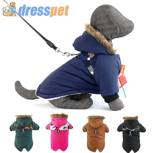 Warm Winter Pet Dog Clothes