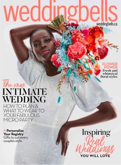 My Work Published in Wedding Bells Magazine