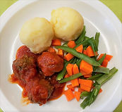 Saucy Meat Free Balls with Mash.jpeg
