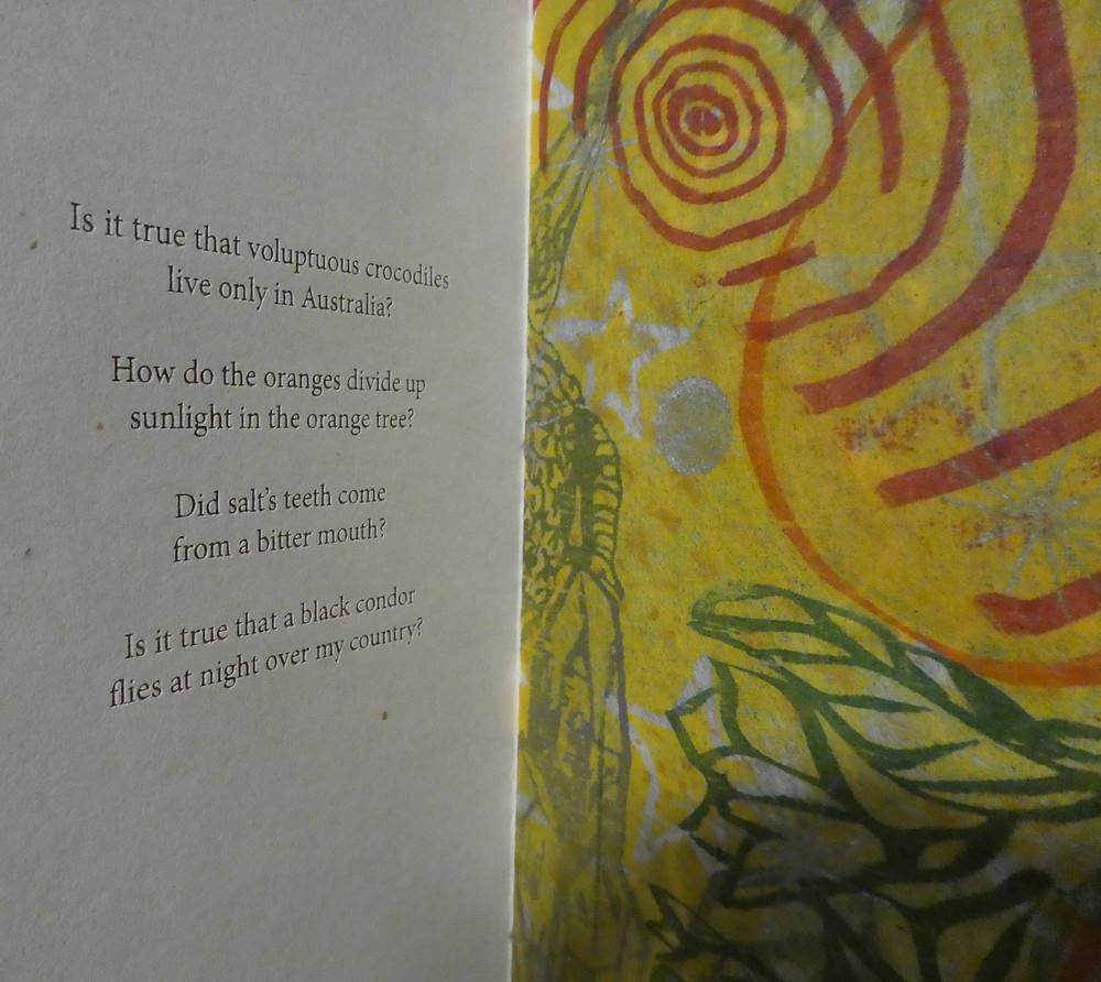 Woodblock and pochoir printed illustration
