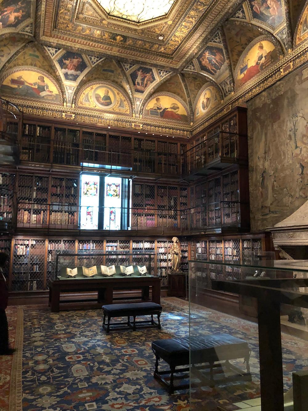 Photo of Pierpont Morgan Library.