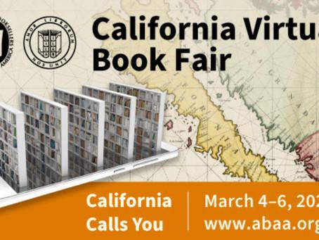 California Virtual Book Fair Coming to You!