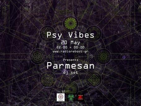 Parmesan DJ set @ Psy Vibes!