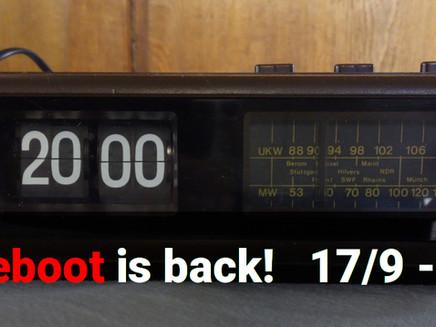 Radio Reboot Is Back!