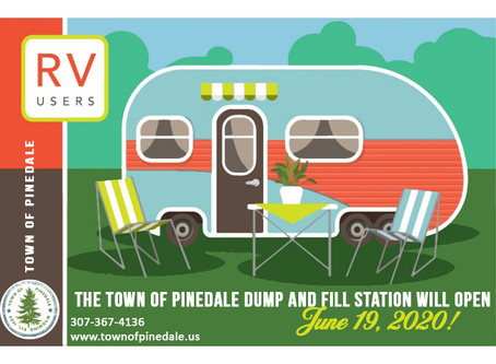 Town of Pinedale's Dump & Fill Grand Opening!