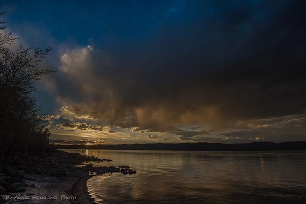 Fremont Lake Sunset