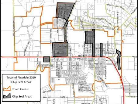 Town of Pinedale – Chip Sealing