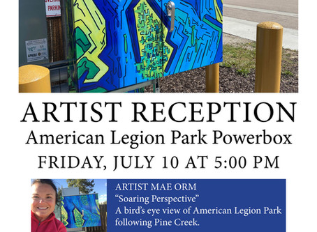 """Soaring Perspective"" Artist Reception"