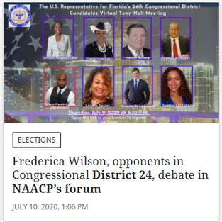 The Miami Herald Covers the NAACP Forum