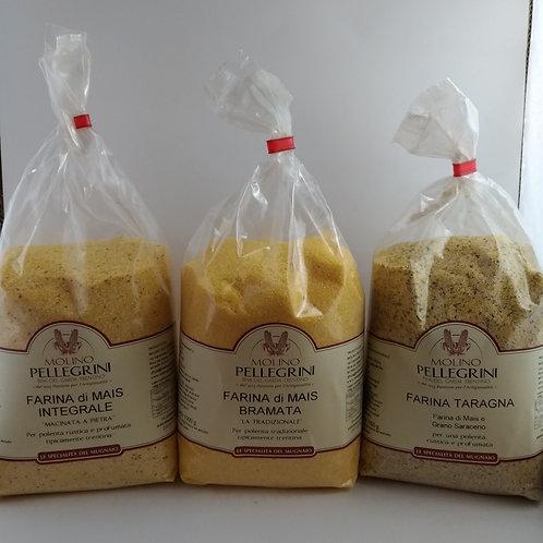 Farine per polenta 1 Kg