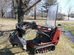 Dingo TX 425 w/ Stump Grinder Attach