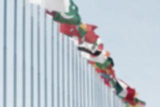 Banderas internacionales